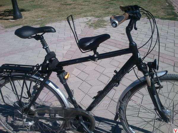 Сиденье на велосипеде