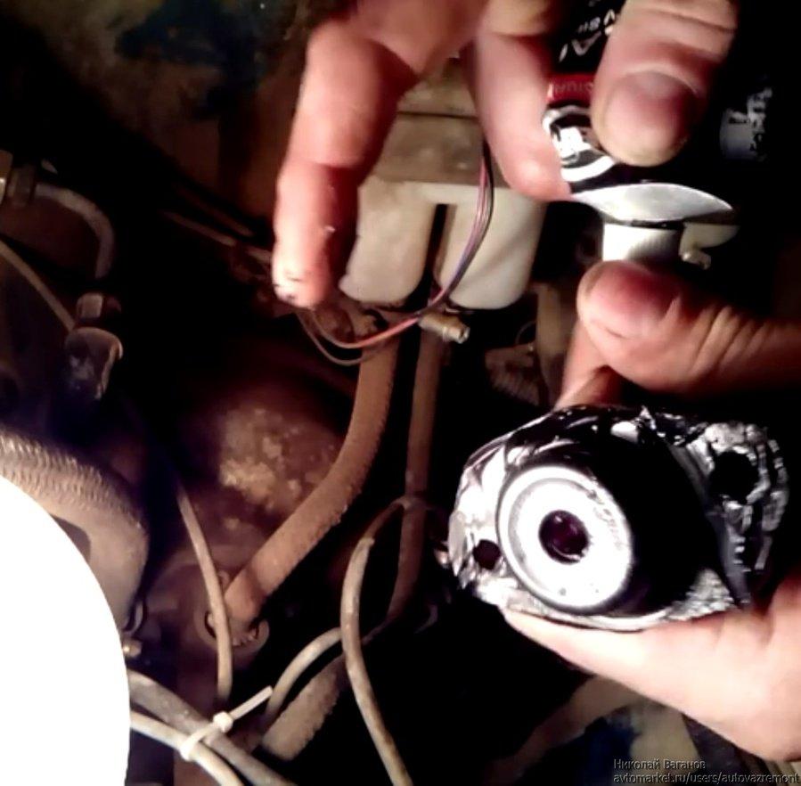 видео инструкция по замене поршневых колец на ваз21074 не снимая двигатель