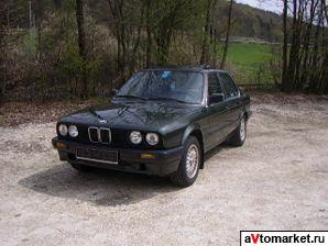 все технические характеристики Bmw 3 серия E30 4 дв седан 1983