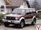 Mitsubishi Pajero 5 дв. внедорожник 1991 – 1997