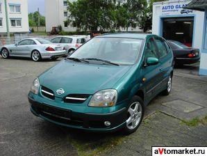 Nissan Almera Tino 5 дв. минивэн (2000—2003) (Ниссан