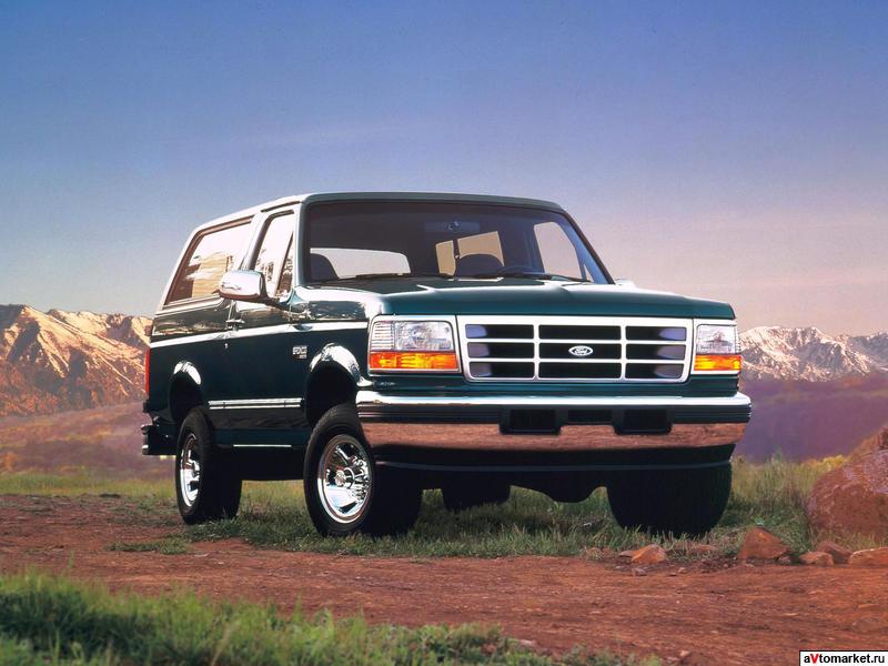 Автомобили Ford Bronco / Форд…