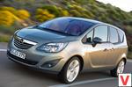 Opel Meriva 5 дв. минивэн 2010 – 2013