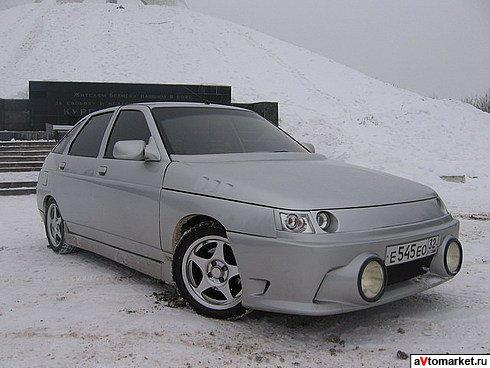 Тюнинг ВАЗ 2112.