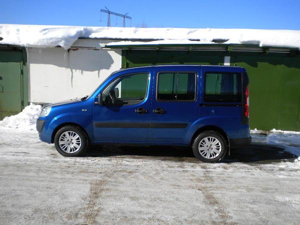 Отзыв Fiat Doblo Panorama 1.4