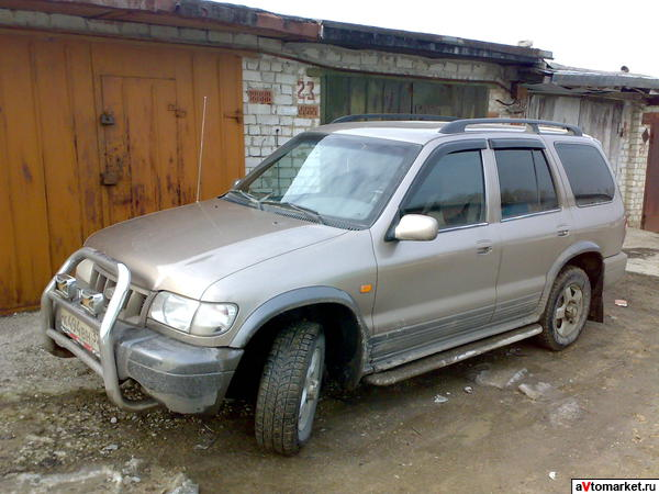Отзыв kia sportage wagon 2 0 16v dohc 2005 г
