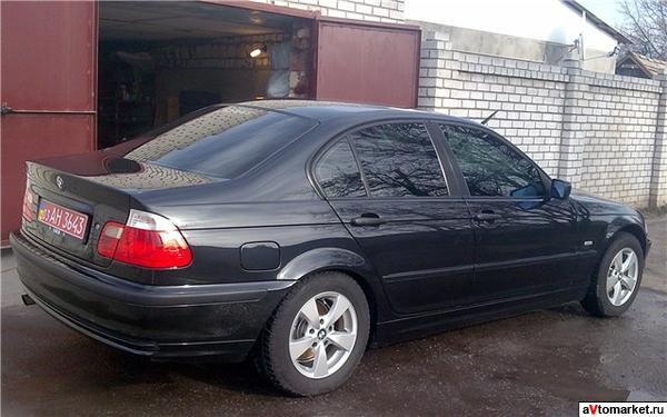 bmw 318i 2000 г характеристики