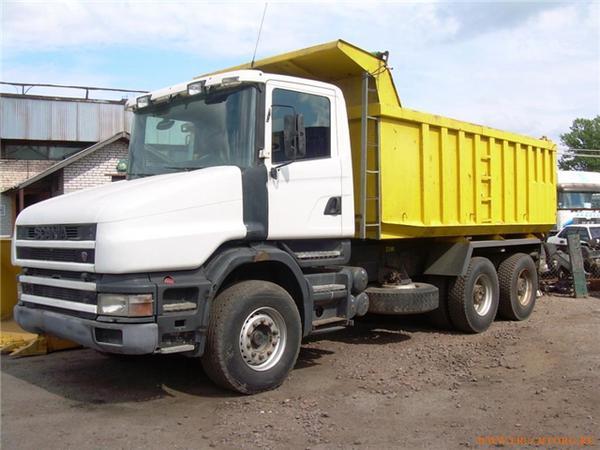 Продажа грузовиков Scania самосвал Купить грузовик