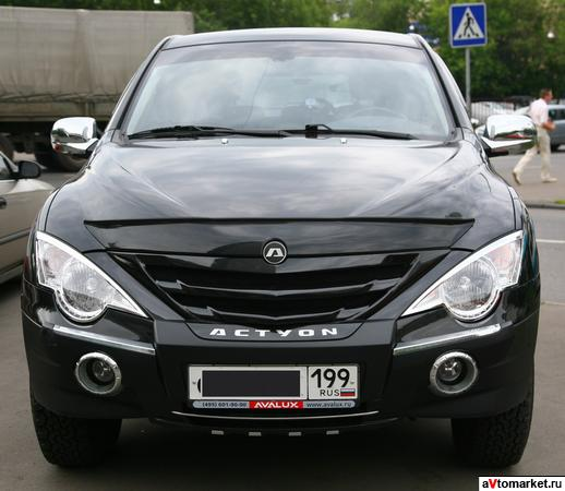 Ssang Yong Actyon 2009, made in Korea, максимальная комплектация.