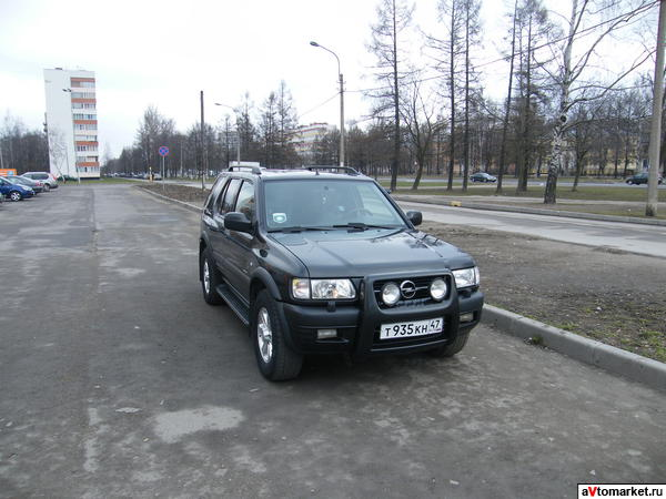 Отзыв Opel Frontera Wagon MV6