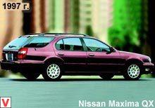 nissan maxima q32 центральный задние фонари