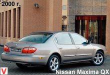 nissan maxima qx 2.0 v6*elegance