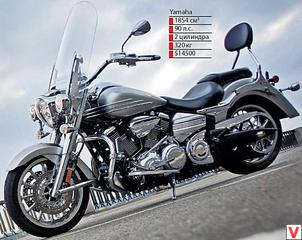 Yamaha XV 1900A Roadliner Midnight 2007