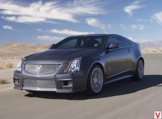 Cadillac CTS-V Coupe 2010 год
