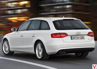 Audi A4 Avant 2012 год