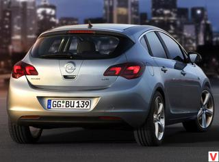 Opel Astra 2010 год