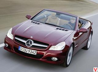 Mercedes-Benz SL Roadster 2008 год