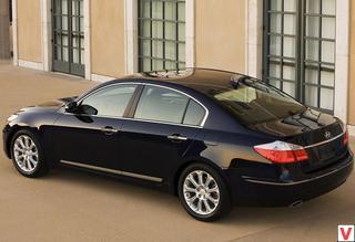 Hyundai Genesis 2008 год