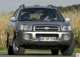 Hyundai Santa Fe 2005 год