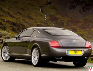 Bentley Continental GT Speed 2007 год