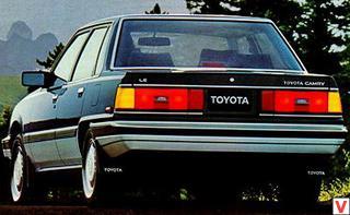 Toyota Camry 1983 год
