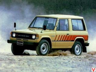 Mitsubishi Pajero 1981 год