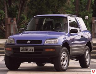 Toyota RAV4 1996 год