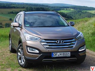 Hyundai Santa Fe 2012 год