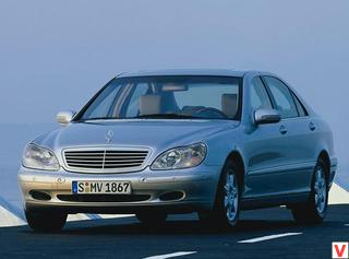Mercedes-Benz S-klass 2000 год