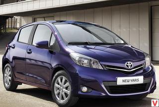 Toyota Yaris 2012 год