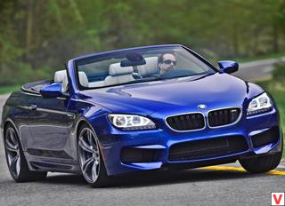 BMW M6 Convertible 2012 год