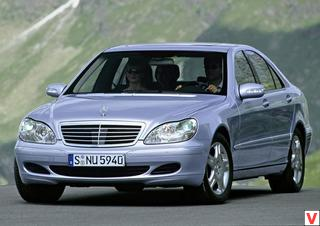Mercedes-Benz S-klass 2003 года