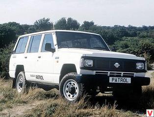 nissan patrol y60 3 дверный характеристики