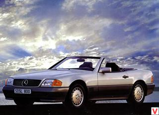 Mercedes-Benz SL Roadster 1989 год
