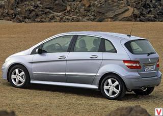 технические характеристики Mercedes B Class мерседес би класс