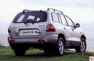 Hyundai Santa Fe 2001 год
