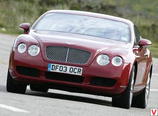 Bentley Continental GT 2003 год