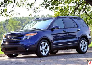 Ford Explorer 2011 год