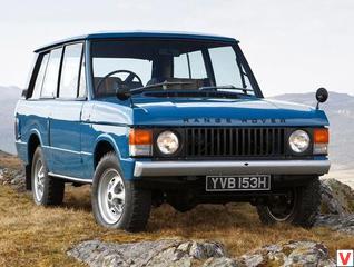 Land Rover Range Rover 1970 год