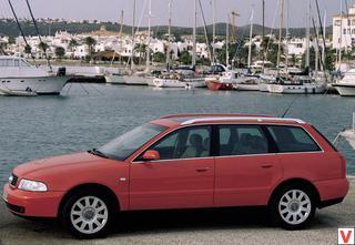 Audi A4 Avant 2000 год