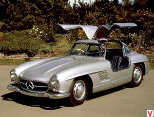 Mercedes-Benz 300SL Gullwing Coupe 1954 год