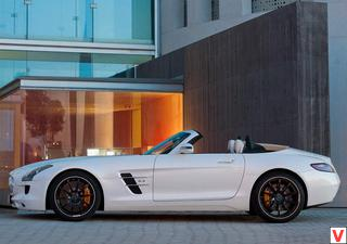 SLS AMG Roadster 2011 год