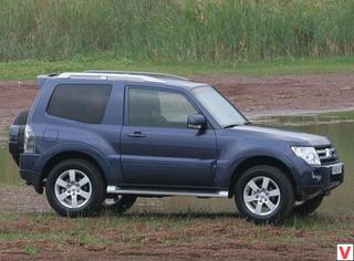 Mitsubishi Pajero 2007 год