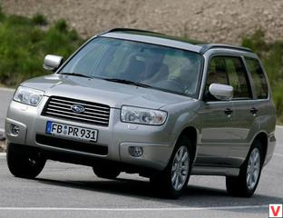 Subaru Forester 2005 год