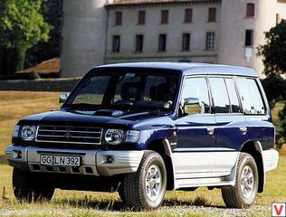 Mitsubishi Pajero 1997 год