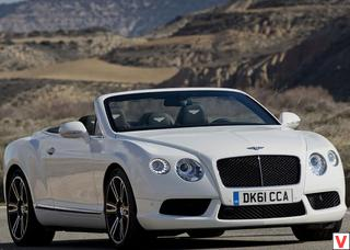 Bentley Continental GTC 2012 год