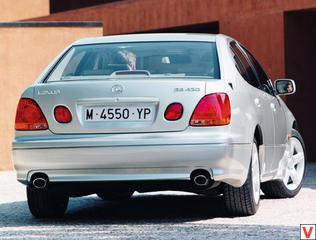Lexus GS 2002 год