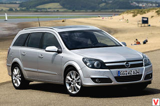 Opel Astra 2005 год