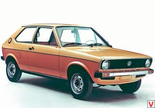 VW Polo 1975 год