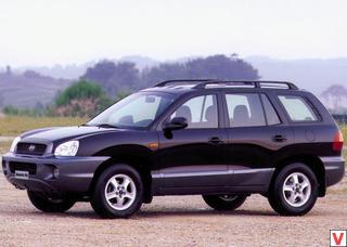 Hyundai Santa Fe 2000 год